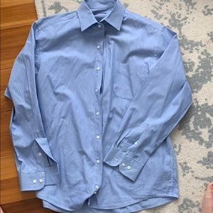 BUNDLE &SAVE Club room blue striped dress shirt